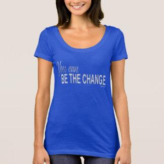 Camiseta Você pode ser o pescoço da colher da mudança!