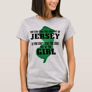 Camiseta Você pode tomar a menina fora do jérsei….