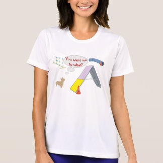 Camiseta Você quer-me a que?