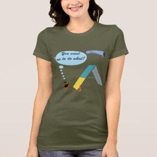 Camiseta Você quer que?