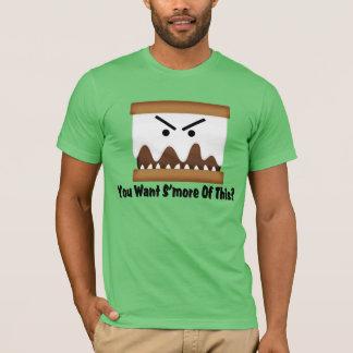 Camiseta Você quer S'more deste?
