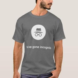 Camiseta Você tem Google em incógnito ido croma