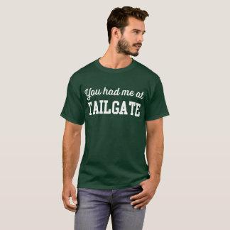 Camiseta Você teve-me na bagageira