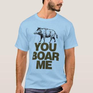 Camiseta Você varrão mim