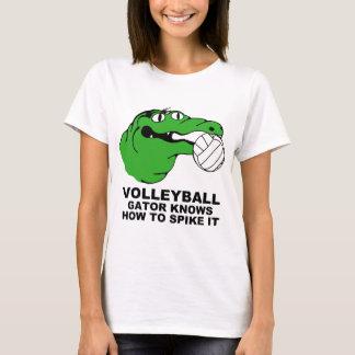 Camiseta VOLEIBOL da engrenagem do jacaré
