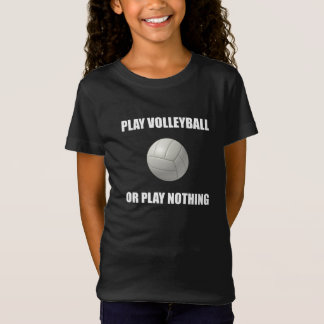 Camiseta Voleibol ou nada do jogo