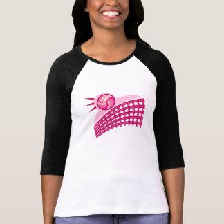 Camiseta Voleibol & rede