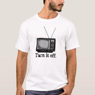 Camiseta Volta da tevê… ele fora