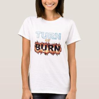 Camiseta Volta ou queimadura