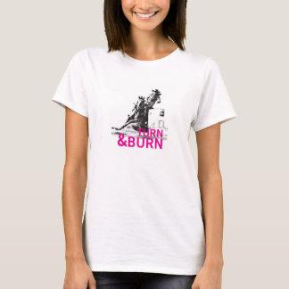Camiseta Volta & queimadura