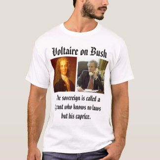 Camiseta Voltaire, bush_phone, todos os assassinos é