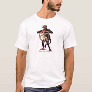 Camiseta Vom de Gruss (cumprimentos de) Krampus