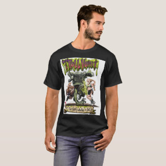 Camiseta Vómito do troll - uma cerveja inglesa de Dwarven!