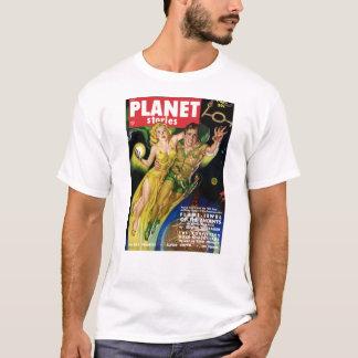 Camiseta Voo durante todo a galáxia