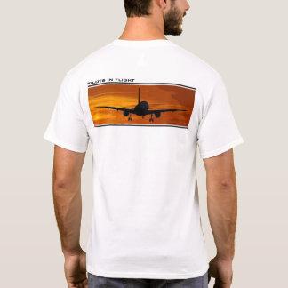 Camiseta Voo em Por do sol-Pilotos em vôo