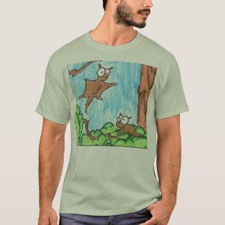 Camiseta vôo-esquilo