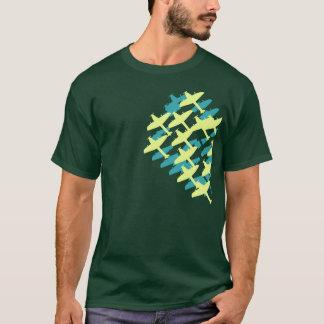 Camiseta vôo-grupo