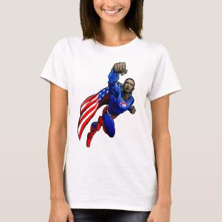 Camiseta Vôo Obama - senhoras cabidas