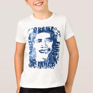 "Camiseta ""Vote Obama para a bola T. do vintage-olhar da"