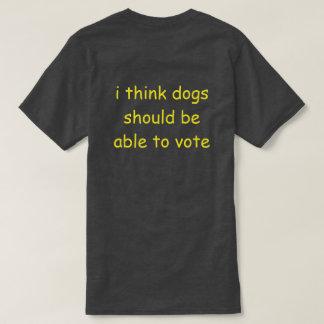 Camiseta voto do cão
