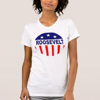 Camiseta Voto do FDR Franklin D Roosevelt para a mudança