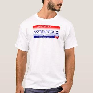 Camiseta Voto para a matrícula de Pedro Idaho