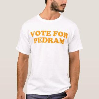 Camiseta Voto para Pedram - laranja