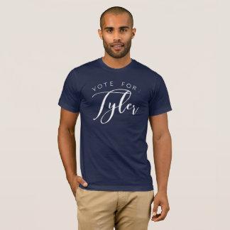 Camiseta Voto para: Tyler