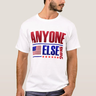 Camiseta Voto qualquer um mais 2016