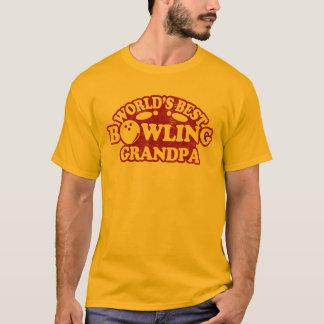 Camiseta Vovô da boliche do mundo o melhor