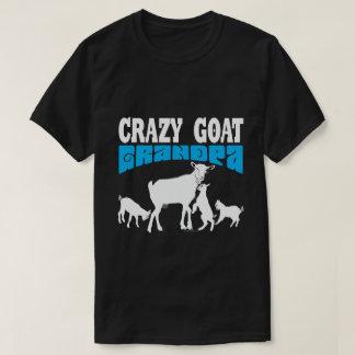 Camiseta Vovô louco GYG azul da cabra do amante | da CABRA