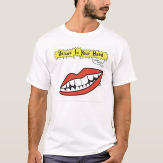 Camiseta Vozes em sua cabeça (eu estou com fome… Não faz