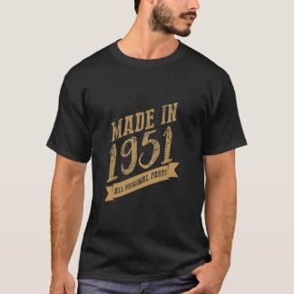 Camiseta VT180/fez em 1951 todo o ouro original da parte