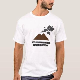 Camiseta Vulcão de Islândia