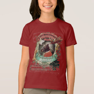 Camiseta W.A. Paródia animal engraçada de Mozart do