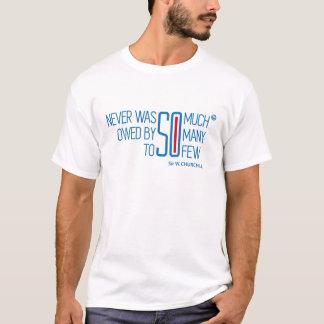 Camiseta W.Churchill Citação