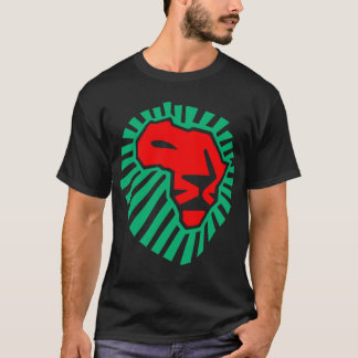 Camiseta Waka-waka africano da cabeça do leão. (verso)