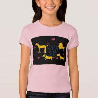 Camiseta Walk The Dog meninos Shirt