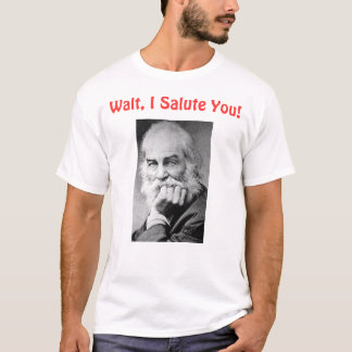 Camiseta Walt, eu saudo-o
