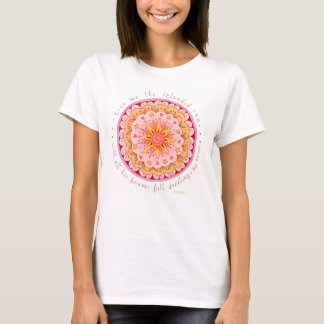 Camiseta Walt Whitman que brilha Sun