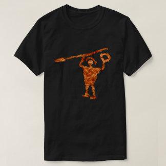 Camiseta Warior da idade do ferro de Valcamonica