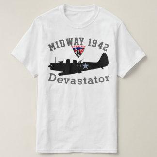 """Camiseta Warkites """"1942"""" Devastator intermediário"""