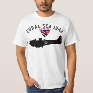 """Camiseta Warkites """"mar coral 1942"""" Dauntless"""
