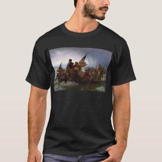 Camiseta Washington que cruza arte do Delaware - E.U. do