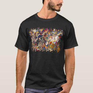 Camiseta Wassily Kandinsky - arte abstracta da composição 7