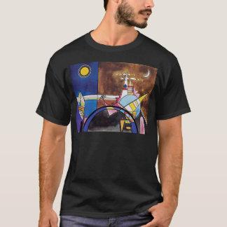 Camiseta Wassily Kandinsky - grande porta do abstrato de