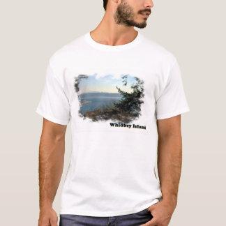 Camiseta Waterscape da ilha de Whidbey