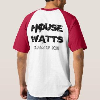 Camiseta Watts 2020 da casa