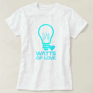 Camiseta Watts do amor