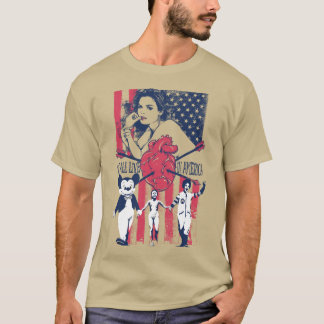 Camiseta We All Live in America